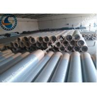 China Stainless Steel Sand Control Wedge Wire Screen Pipes In Water Well Drilling wholesale