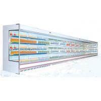 China Blue 5 Tired Multideck Refrigerated Display Pansonic With Low Front wholesale
