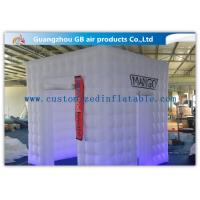 China Party / Wedding Inflatable Booth Tent 16 Led Light Colors With Remote Controller wholesale