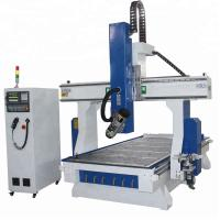 China Vacuum Table CNC Metal Cutting Machines 1325 , 4 Axis Cnc Router Milling Aluminum wholesale