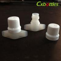 China X-08 Food Grade Twist Spout Cap 9.6mm White Color Printing Available wholesale