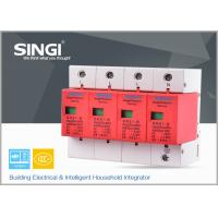 China 1P , 2P , 3P , 4P Poles Electrical Surge Protector Device for Home , industrial wholesale