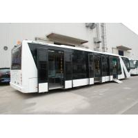 China Durable Comfortable Airport Coaches With 7100mm Wheel Base DC24V 240W wholesale
