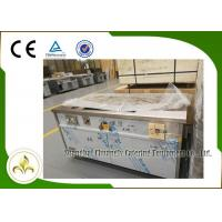 China Natural Gas Teppanyaki Grill Table Rectangle Fume Down Exhaust Stainless Steel CSA wholesale