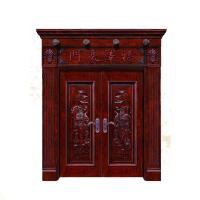 China Guangzhou manufacture modern design interior luxury solid wood doors wholesale