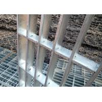 China Expanded Press Lock Steel Grating , Galvanised Floor Grating For Power Plant wholesale