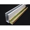 China White Metal U-aluminum Profile Screen Ceiling , Hanging Ceiling Tiles wholesale