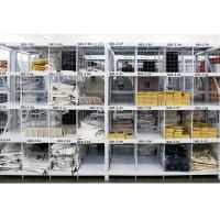 China 150 - 300kg Pallet Steel Shelving with Wire Decking for Garment wholesale