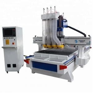 China 1325 ATC CNC Wood Cutting Machine , Woodworking Engraving Machine AC380V/50HZ wholesale