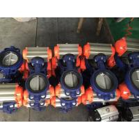 Quality Indoor / Outdoor Double Acting Actuator , Butterfly Valve Actuator With Hard Sealing for sale