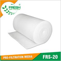 China FRS-20 EU2/G2 arrestance pre-filtration air filter media rolls wholesale