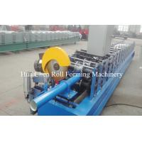 China Rain Water Steel Down Pipe Roll Forming Machine 380V 50Hz 3 Phases wholesale