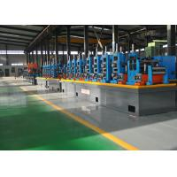 China HF Automatic Steel Pipe Making Machine , SS Tube Mill 21 - 63mm Dia wholesale