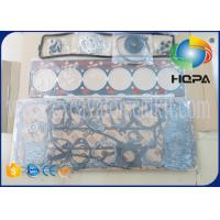 China S6D102E Excavator Engine Parts Gasket Kit Overhaul Rebuild Kit For Excavator Cylinder Head on sale