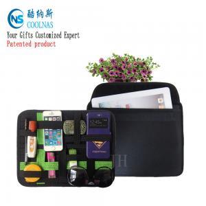 Quality Nylon Travel GRID Gadget Organizer For Digital Devices 28*21 Cm for sale