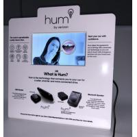 China Acrylic/Cardboard Counter Top Pop Display with 7 Inch Video LCD Screen TV Monitor on sale