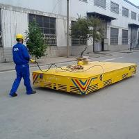 industrial battery supply electric platform trolley no rail dolly for die and mold transfer cargo