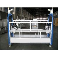 China 10M Safe ZLP630 Aluminium Alloy Rope Suspended Window Cleaning Platform Cradle Swing Stage wholesale