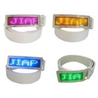 Buy cheap Custom flashing led message display belt buckle from wholesalers