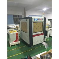 China Small Cnc Fiber Laser Metal Cutting Machine For Gold  Jewelry 600*600mm Cutting Size wholesale