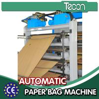 China CE Approval Cement Paper Bag Manufacturing Machine with 4 Colors Printing wholesale