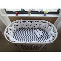 China Real Simple Solid Baby Crib Bedding Sets Bed Reducer With Logo Customized wholesale