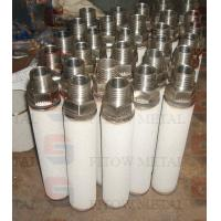 China Washable Ti Filter Cartridge/High Temperature Filtration wholesale