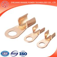 China Copper Aluminium Bimetal Cable Lug with two holes on the palm/cable terminal/terminal lug sizes wholesale