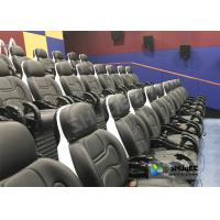 Quality Exciting 5D Cinema Equipment , 5D Luxury Motion Seats With Vibration Effect In Mall for sale