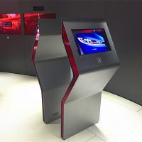 China Free Standing Interactive Touch Screen Kiosk Multi Touch Foil / Film Transparent wholesale