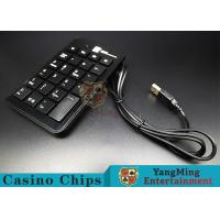 China Portable Slim Mini Wired Usb Numeric Keyboard Especially For Baccarat System wholesale