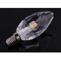 China 5W candle light bulb led spot Crystal Candle Light K5 crystal housing 220V E14 dimmable wholesale