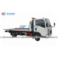 China Sinotruk HOWO 4X2 Platform Towing Truck 4T for Road Rescue wholesale