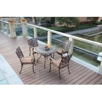China outdoor garden furniture cast aluminum set-16100 wholesale