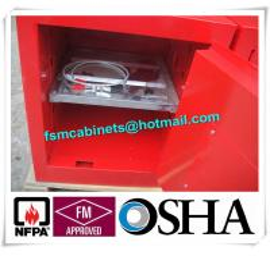 Quality Flammable Hazmat Storage Locker , Chemical Storage Cupboards Waterproof for sale