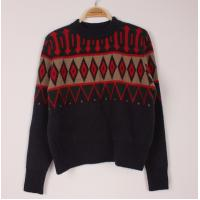 China Warm-keeping Mens Wool Sweaters Long Sleeve Knit  Christmas Pullover Sweater Jumper wholesale