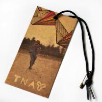 China Factory Made Craft Paper PVC Material Fashion Hang Tag With Printing Company Name For Clothing wholesale