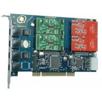 Buy cheap TDM410P with 2FXO&2FXS Asterisk Card for VOIP Call Center from wholesalers