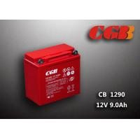 China Motorcycle CB1290MC 12V9Ah Green Sealed Lead Acid Rechargeable Battery 3.28KG wholesale