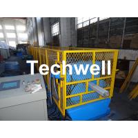 China Galvanized Steel Sheet Square Rainwater Downpipe Roll Former For 80mm, 100mm Or 120mm Coil Width wholesale