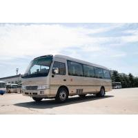 China Front Cummins Engine Toyota Costa Bus , 7.7M Toyota Minibus 31 Seats Capacity wholesale