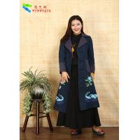 China 100% Cotton Chinese Embroidered Winter Coats Traditional China National Costume wholesale