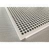 China Akzo Nobel Powder Coated Matt White Finished Aluminium Suspended Ceiling Tiles wholesale