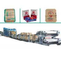 China High Speed Automatic Bottom-pasted Food Paper Bag Making Machine with Strengthen Sheet and Pinter wholesale