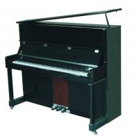 China Classic Solidwood 126cm Acoustic Upright Piano Black Polished AG-126C wholesale