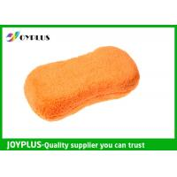 China Super Absorbent Car Wash Tools Car Cleaning Mitt Microfiber / Sponge Material wholesale