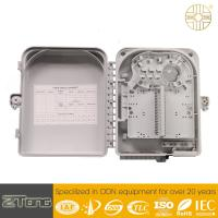 China Outdoor FTTH  Distribution Terminal Box , 12-24 Core Fiber Optic Wall Box wholesale