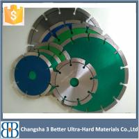 China 7inch180mm Wet Cutting Diamond Angle Grinder Saw Blade wholesale