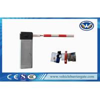 China RS 485 Central driveway barrier gates 0.6s High Speed With Round Tube Arm on sale