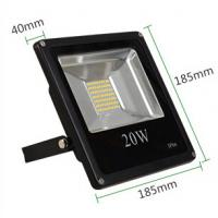 China 20W black white aluminum fixture IP66 240V customized voltage dimmable high PFC PIR sensor wholesale